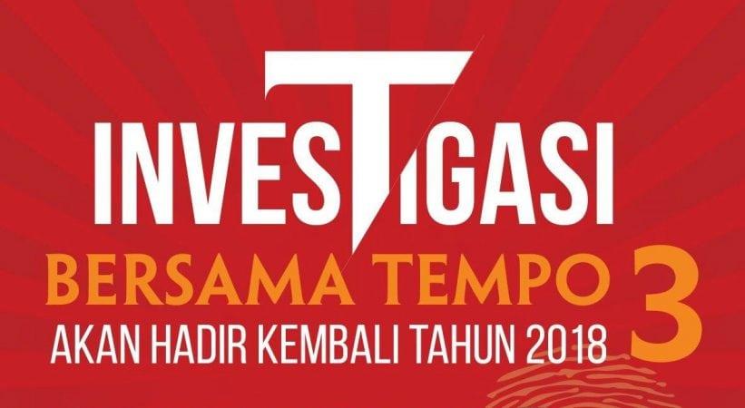 Fellowship Investigasi Bersama Tempo 2018